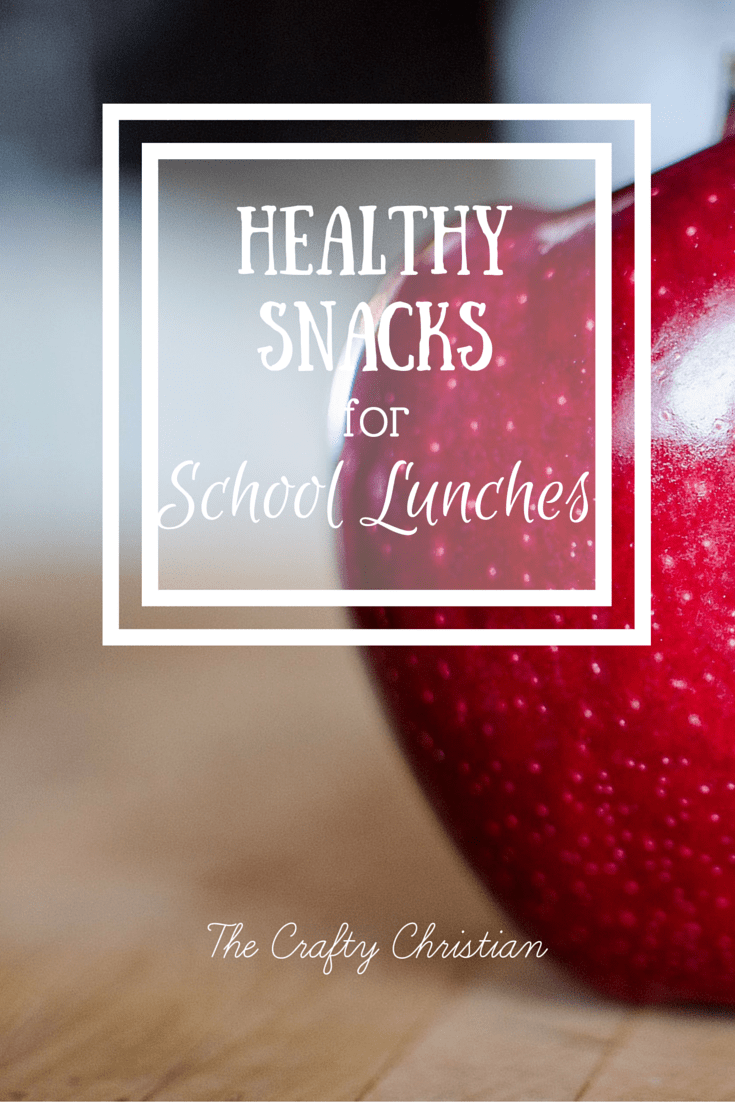 Healthy Snacks for School Lunches