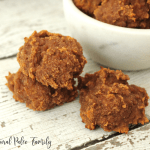 stack of paleo breakfast pumpkin cookies