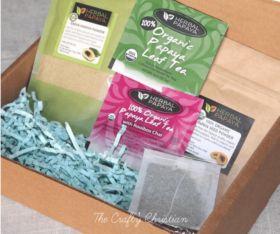 Herbal Papaya products in a box