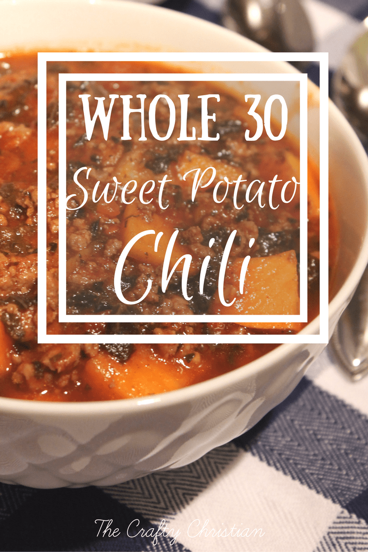 beef chili recipes, crock pot chili, crock pot chili recipes, slow cooker chicken chili, slow cooker chili, slow cooker sweet potato chili, slow cooker whole 30 recipe, slow cooker whole30 recipe, sweet potato chili, whole 30 chili, whole30 approved, whole30 approved food list, whole30 chili, whole30 meal plan, whole30 recipes