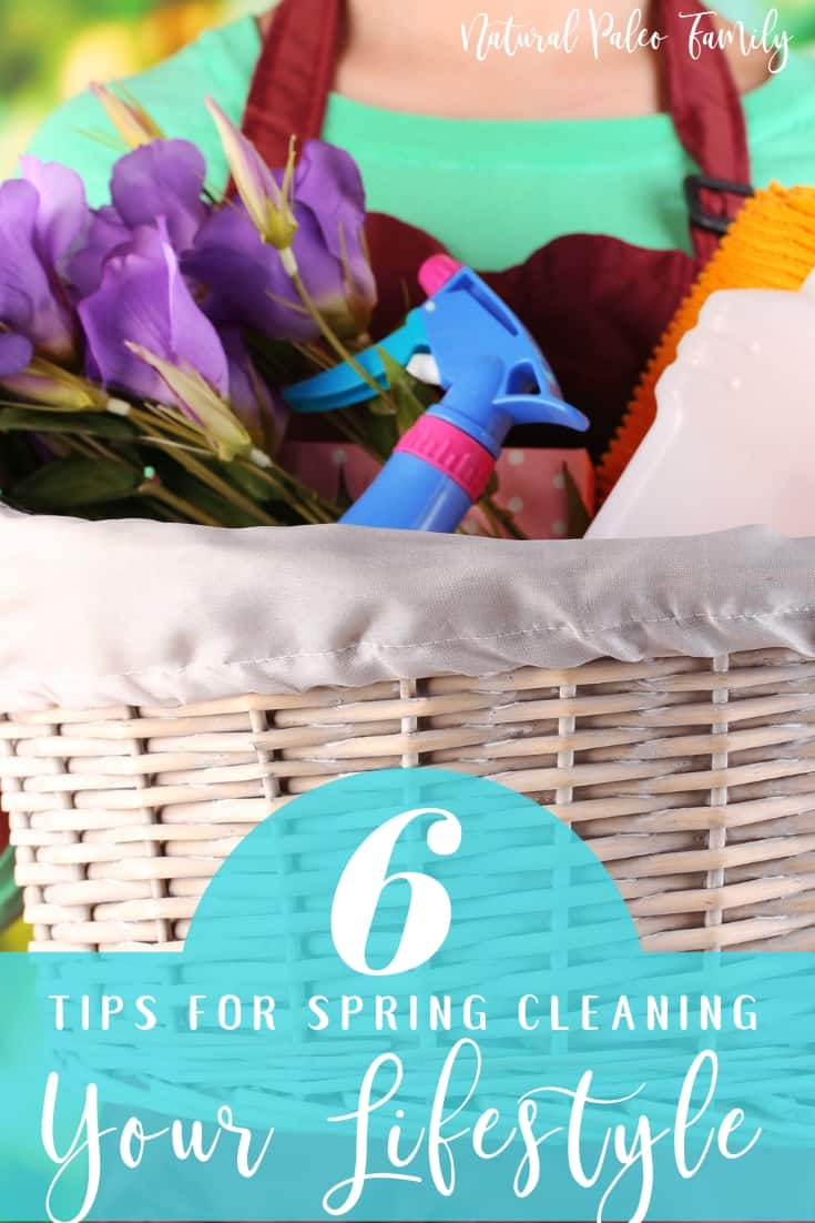 Health is only partially what we eat and how often we exercise - it's how toxic our life is. Spring cleaning your lifestyle isn't as hard as you may think!