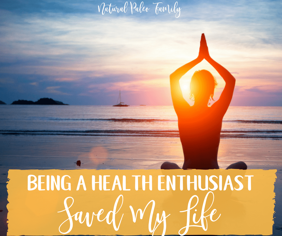 "I've been ""into health"" ever since I was a little kid, learning what I could to heal from chronic illness. Being a health enthusiast saved my life!"
