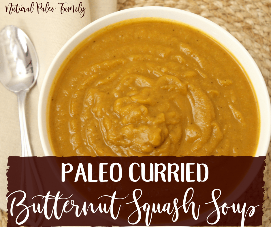 One thing that I never thought I'd miss once starting Wahls Paleo Plus was Indian food.But, my husband requested curry one night, I jumped at the chance to create a healthy, curry flavored meal that would still be something we could eat regularly; and so, curried butternut squash soup was born.