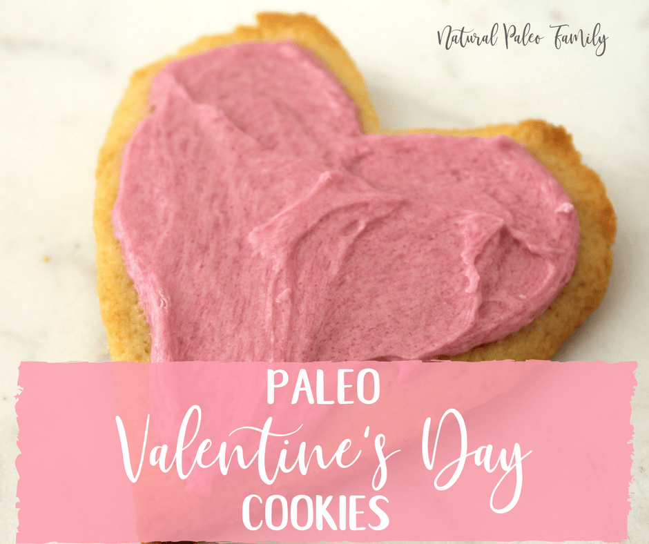 Just a month ago, we set goals to be more committed, eat healthier, and make better choices all around... These Paleo Valentine's Day Cookies are perfect for giving to your Valentine (or eating yourself, I'm not here to judge), bringing to a party, and they won't derail you from your still-fresh New Year's promises.