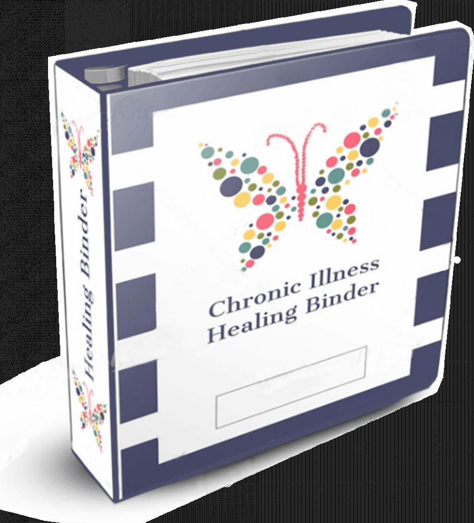 chronic illness healing binder
